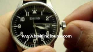 Eklund Pilot Watch Review