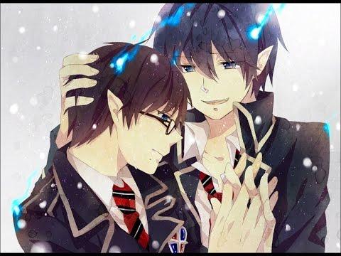 Синий экзорцист Рин и Юкио !!!ЯОЙ!!!