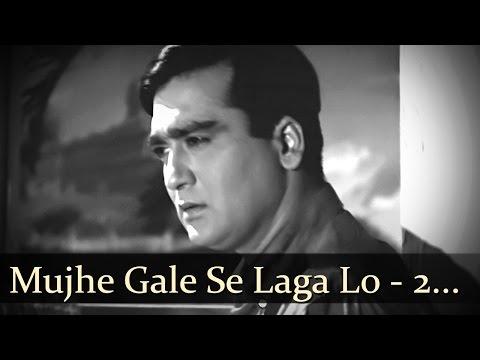 Mujhe Gale Se Laga Lo  Sunil Dutt  Nanda  Aaj Aur Kal  Bollywood Sad Songs  Asha Bhosle