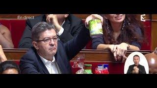 """Jean-Luc Mélenchon fait une intervention """"spécifique""""  à l'assemblée nationale française"""