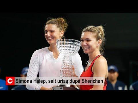 Simona Halep, salt uriaş după Shenzhen