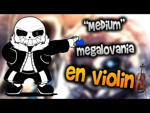 undertale - megalovania en Violín|How to Play,Tutorial,Tab,sheet music,Como Tocar|Manukesman