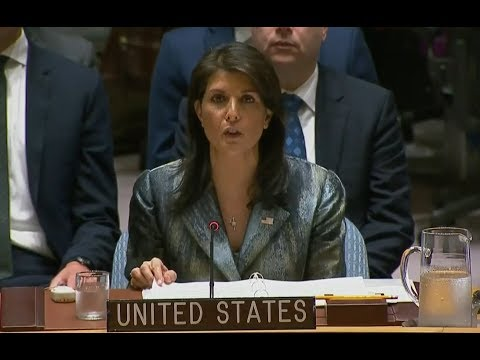 YOU will not BELIEVE what UN Ambassador Nikki Haley just said about ISRAEL  SLAMS UN