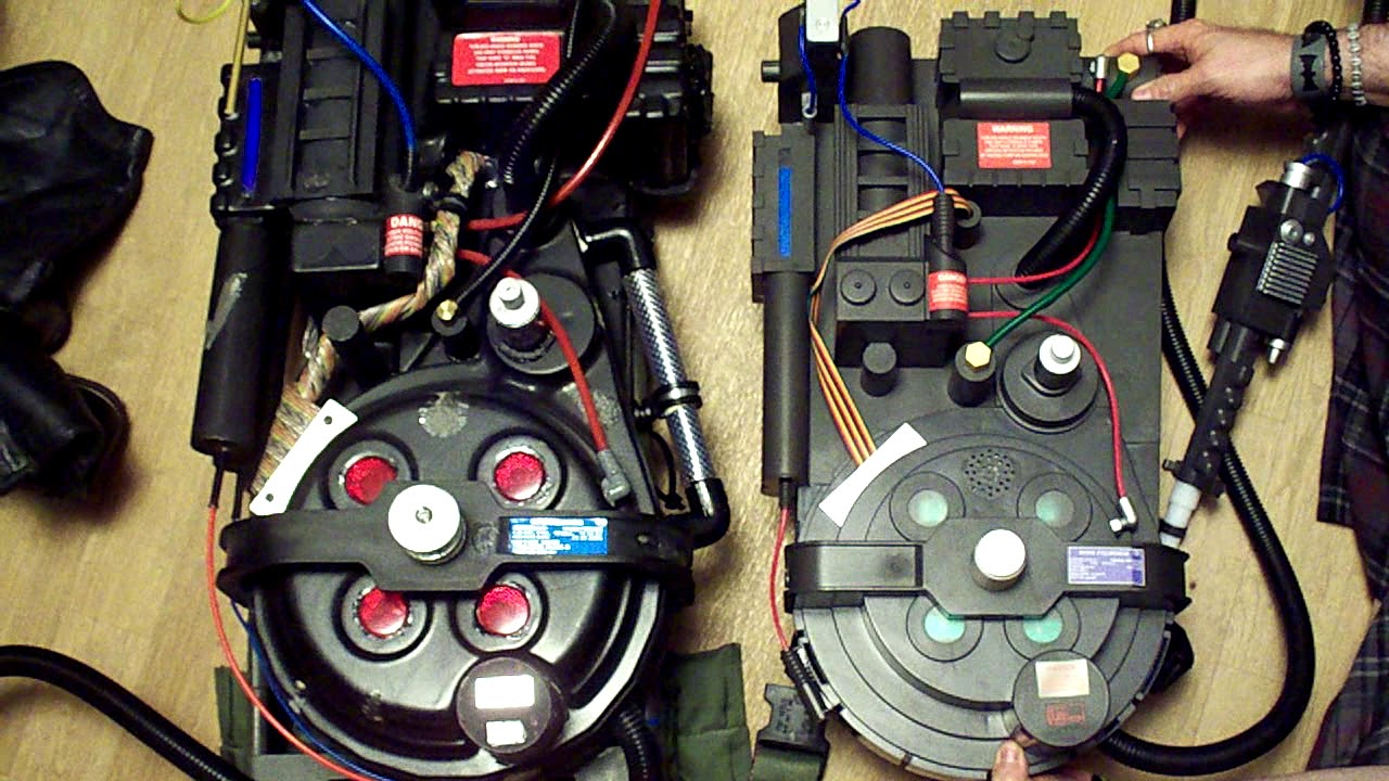 Spirit Halloween Proton Pack Review Youtube