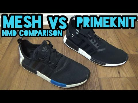 Adidas Nmd Primeknit Vs Mesh What S The Difference Youtube