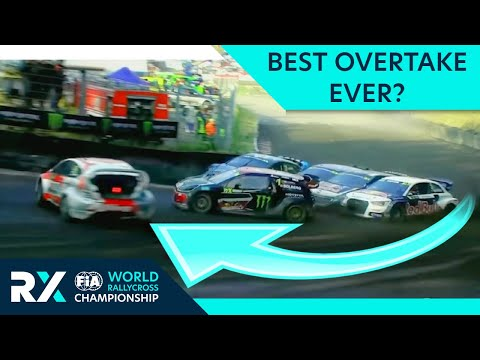 Best Motorsport Overtake EVER? World RX Rallycross EPIC pass by Kevin Eriksson with amazing drift!