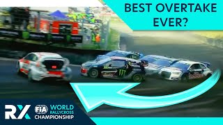 Kevin Eriksson Goes Round The Outside! | Germany RX | FIA World RX