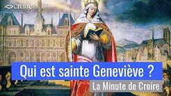 Qui est sainte Geneviève ?