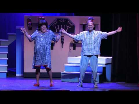 Hairspray performed at the Grand Theatre February 2013