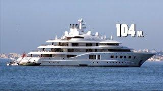 Топ 10. Яхты российских миллиардеров!  Огромные и дорогие!