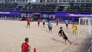 Пляжный футбол Чемпионат мира Португалия Уругвай 3ой период 24 08 2021