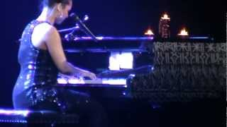Alicia Keys - New York State of Mind, Empire State of Mind ( live hd )