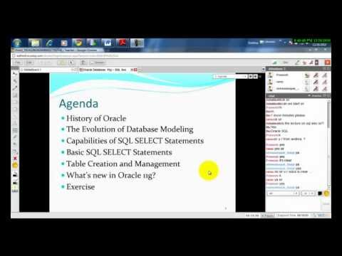 Oracle 11g - Session 1