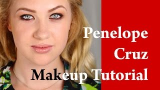 PENELOPE CRUZ makeup tutorial Lancome commercial transformation on a blonde girl Thumbnail
