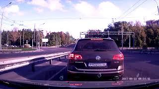 В Рязани перевернулся Land Cruiser