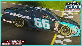 NASCAR YouTube Pro Series Round 1 at Daytona | In-Car windVOW8820