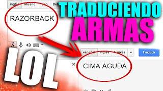 TRADUCIENDO ARMAS DE BLACK OPS 3 AL ESPANOL