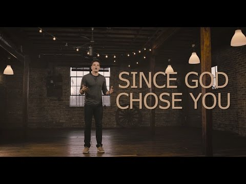 Since God Chose You | Spoken Word | Jon Jorgenson