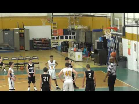 Spencer Middle School Boy's Basketball vs  Wirt County MIddle School A Team 12-12-16