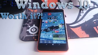 """Windows 10 Mobile worth to update? ( Lumia 640 XL ) """"Insider Preview"""""""