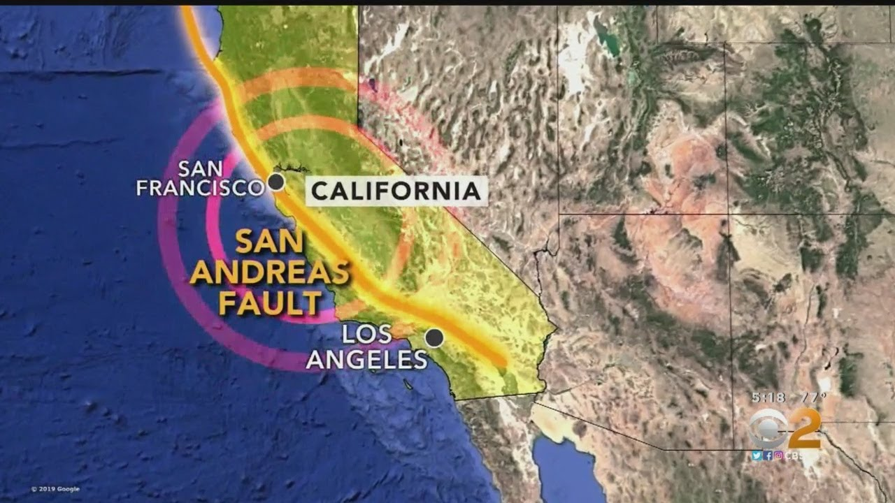 More Than 1,000 Small Earthquakes Hit Southern California