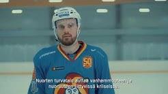 """Jesse Joensuu mukana SPR:n videolla: """"Kaikille asioille voi tehdä jotain"""""""