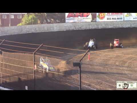 From Ventura Raceway Senior Sprint Car Heat Races