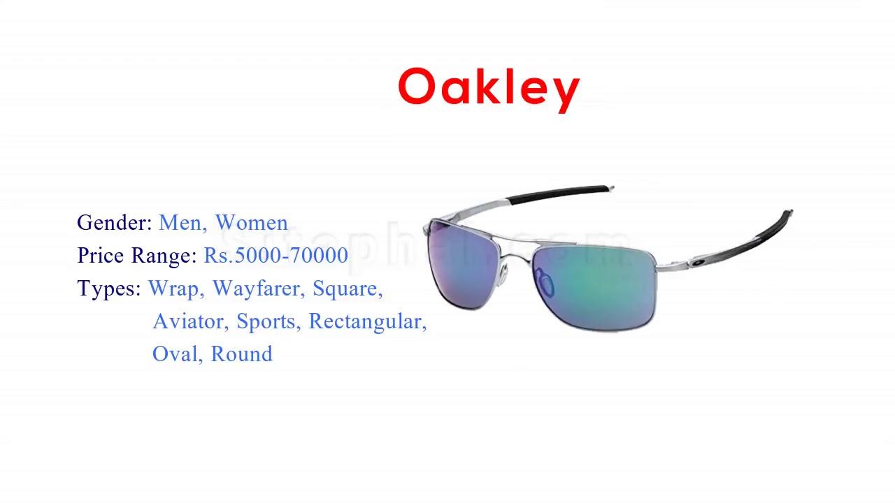 2f9af50ab86 Top 10 Best sunglasses brands in India 2018 Ideal for Men   Women ...