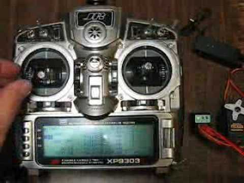 how to use the jr dsx9 transmitter