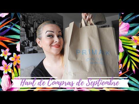 Haul De Septiembre! Se Me Fue De Las Manos! Compras Y Más Compras thumbnail