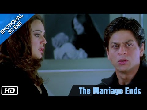 The Marriage Ends - Emotional Scene - Kabhi Alvida Naa Kehna - Shahrukh Khan, Preity Zinta