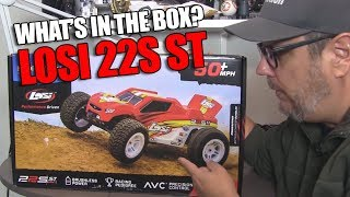Unboxed and Up Close: Losi 22S ST RTR Brushless Stadium Truck