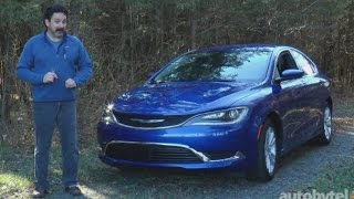 2016 Chrysler 200 Test Drive Video Review
