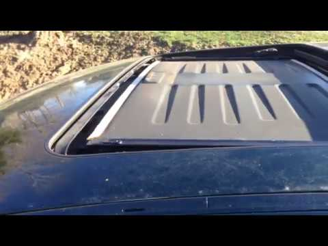 BMW E38 E39 Sunroof Fix Sun Shade Removal And Glass Removal - YouTube