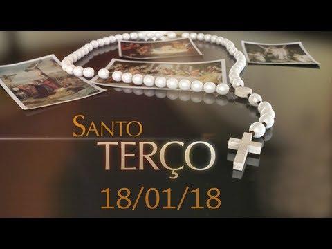 Santo Terço de 18/01/18 - Pe. Paulinho e Cristiane Ribeira