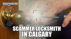 "Scammer locksmith in Calgary - ""Locksmith Calgary"""