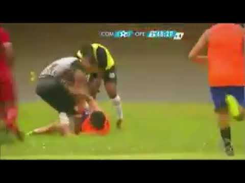 Player in Brazil beat up ball boy after the latter celebrated goal from opposite team!