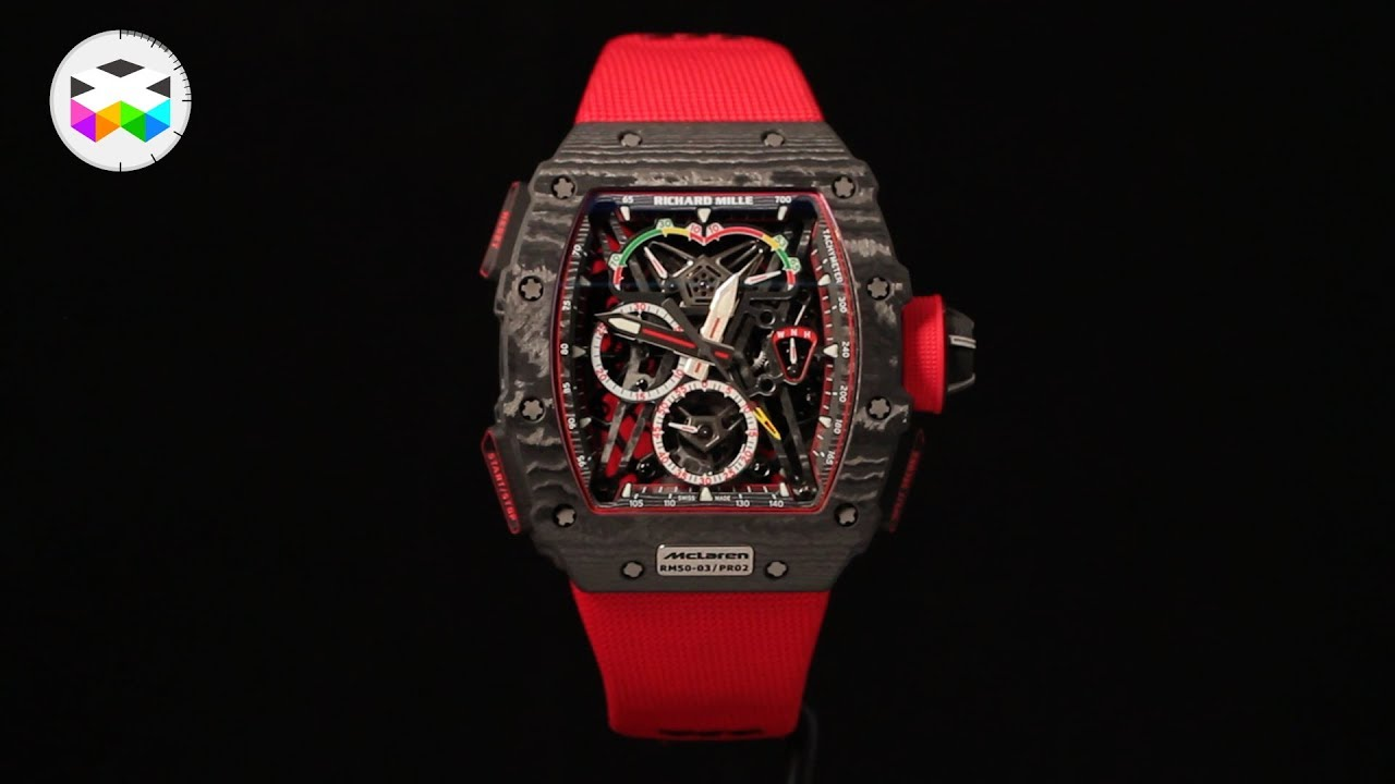 Richard Mille introduces the RM 50-03 at the 2017 SIHH ...