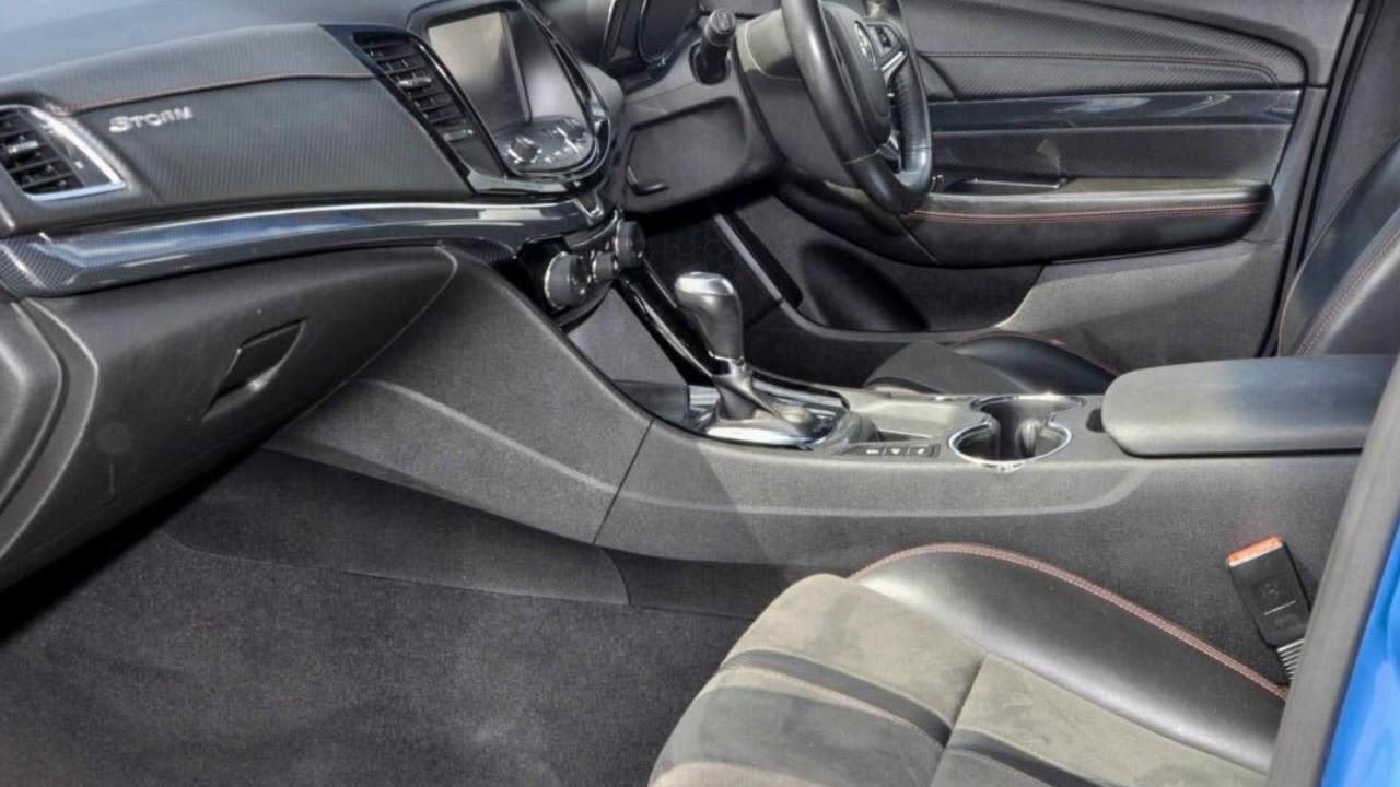 2015 Holden Commodore VF MY15 SV6 Sportwagon Storm Blue 6 Speed