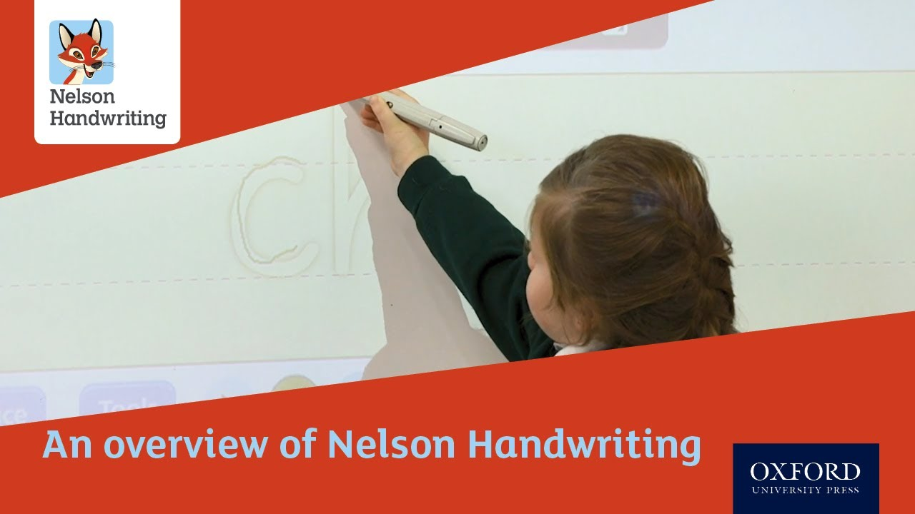 nelson handwriting books free download