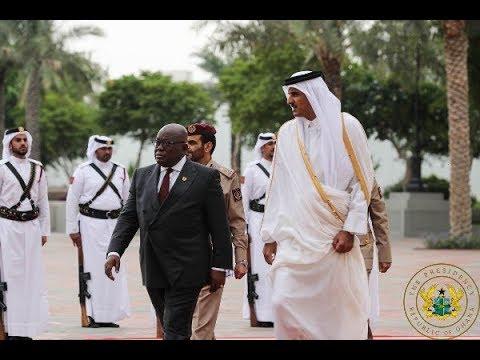 Ghana, Qatar sign 7 agreements