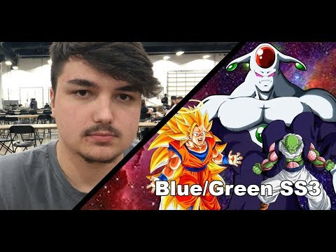 Dragon Ball Super ARG Philly 1k 3rd Place ~ Blue/Green SS3 ~ Wiseguys Nicholas Minio