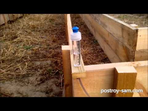 Как сколотить опалубку для ленточного фундамента