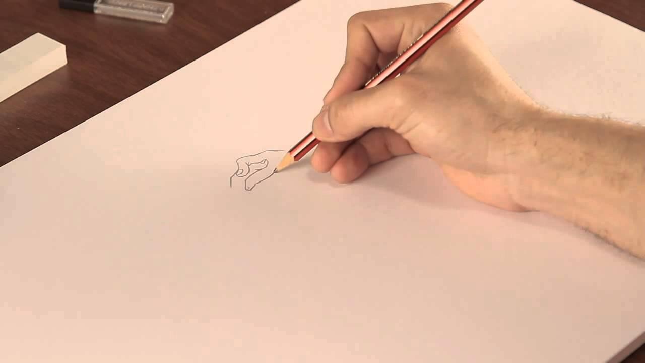 Cómo Dibujar Manos Unidas Youtube