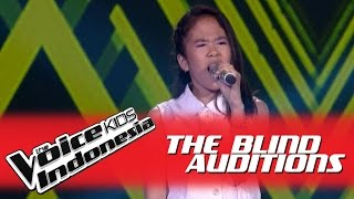 "Brenda ""Jangan Kau Bohong"" I The Blind Auditions I The Voice Kids Indonesia 2016"