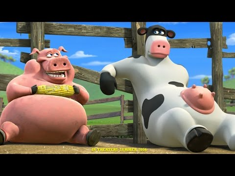Barnyard The Game All Cutscenes Gameplay