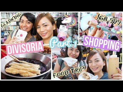 DIVISORIA SHOPPING (999, 168, Gladking + Food Trip) VLOG PART 1
