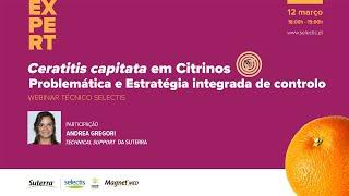Webinar Ceratitis capitata em Citrinos - 12 de Março 18:00h