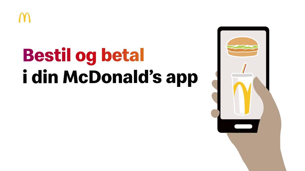 McDonald's mobilbestiling