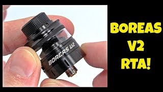 Vaping The Boreas V2 RTA By Augvape!